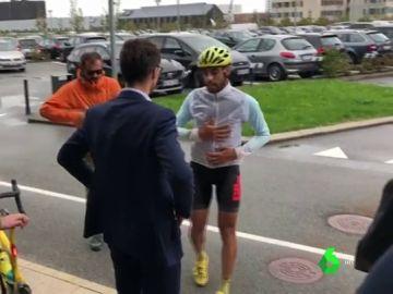 Desde león a Dinamarca en bicicleta para protestar por el cierre de Vestas en León
