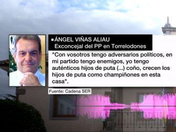 Palabras de Ángel Viñas Aliau, exconcejal del PP en Torrelodones