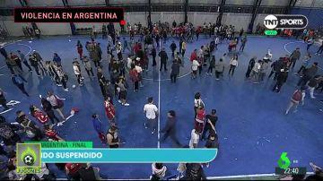 Violencia ultra en la final de la Copa Argentina femenina: mínima seguridad y peleas con palos y piedras
