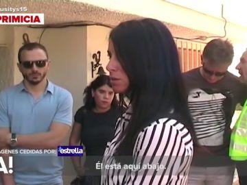 Rosa Peral en la reconstrucción del crimen de su novio Pedro Rodríguez