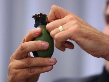 Imagen de una granada de mano