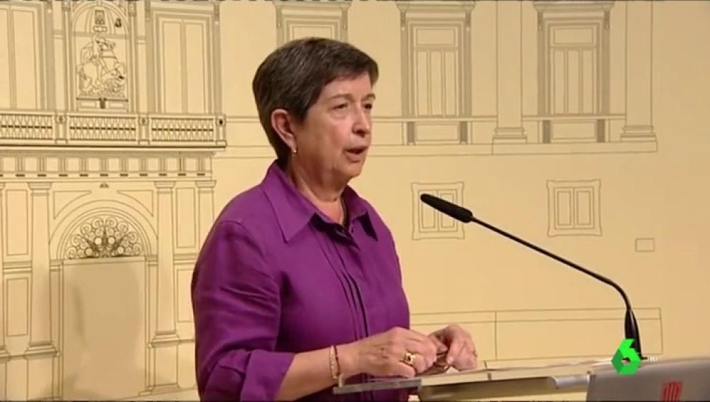 """La delegada del Gobierno en Cataluña puntualiza que es """"prematura"""" toda """"especulación"""" sobre indultos a líderes independentistas"""