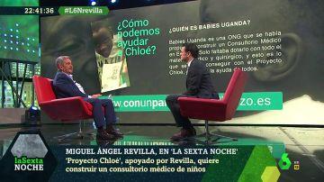 Miguel Ángel Revilla en laSexta Noche