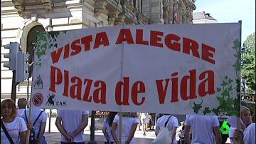 Protesta antitaurina en Bilbao