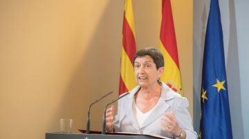 La delegada del Gobierno en Cataluña, Teresa Cunillera