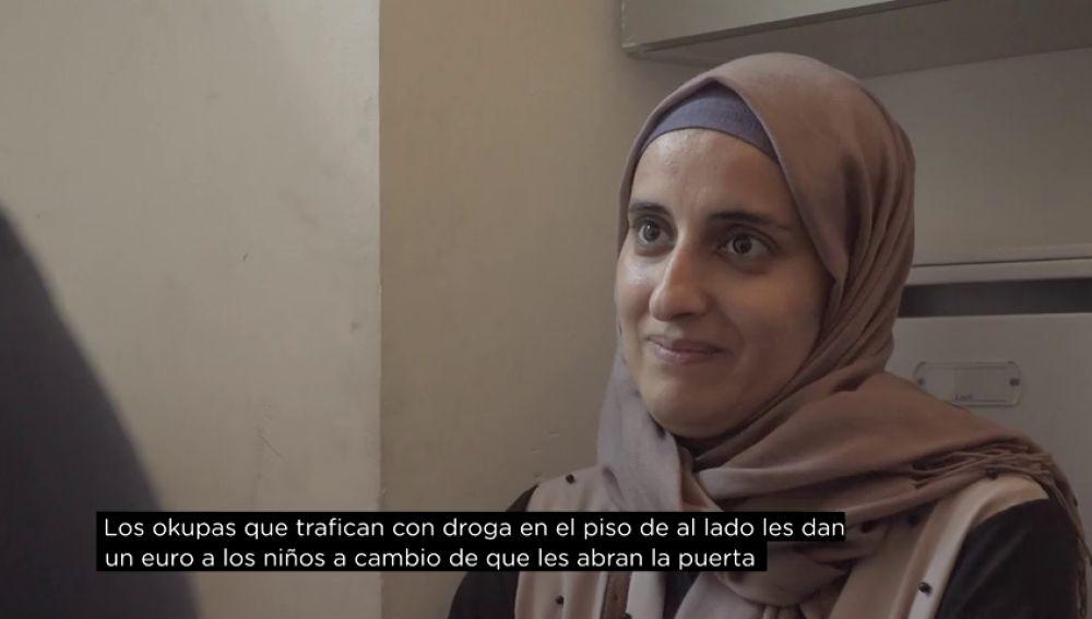 Latiffa, una madre que será desahuciada