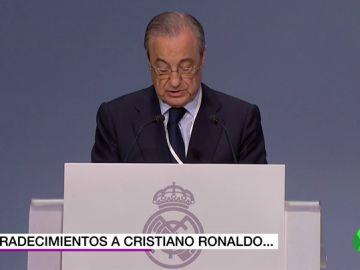 """Florentino: """"Cristiano ha sido un referente, digno sucesor de Alfredo Di Stéfano"""""""