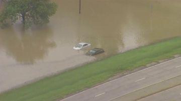 Imagen de las consecuencias de las inundaciones en el norte de Texas