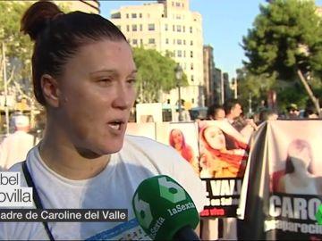 """Manifestación en Barcelona por Caroline del Valle, desaparecida en 2015: """"Que la busquen. Una niña no desaparece"""""""