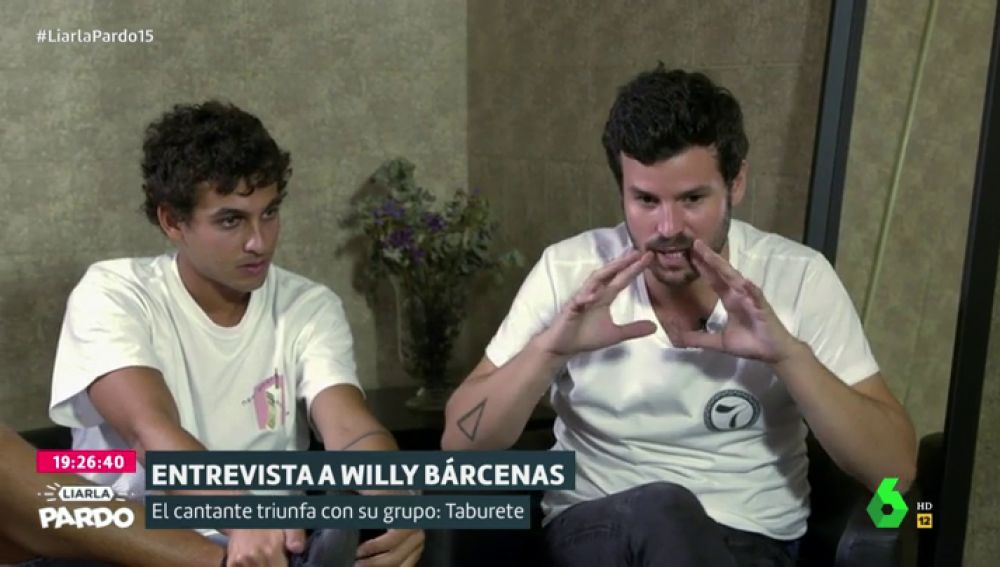 Antón Carreño y Willy Bárcenas