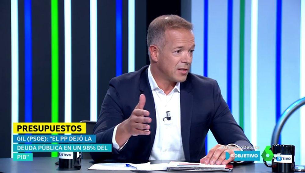 Ander Gil, en El Objetivo