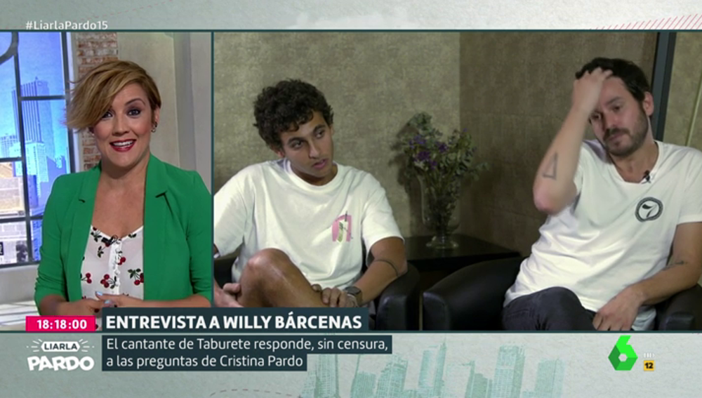 Cristina Pardo, Antón Carreño y Willy Bárcenas