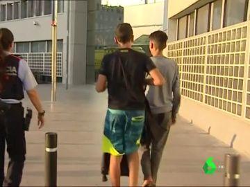 Menores no acompañados en Cataluña