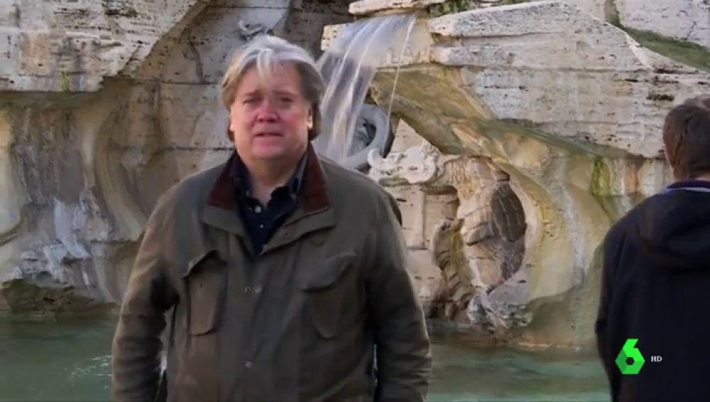 Steve Bannon en Italia