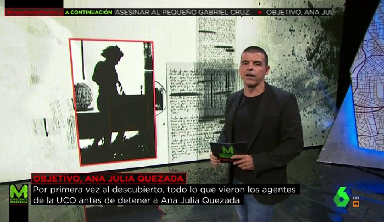 La secuencia completa de las imágenes que provocaron la detención de Ana Julia Quezada por el asesinato de Gabriel Cruz