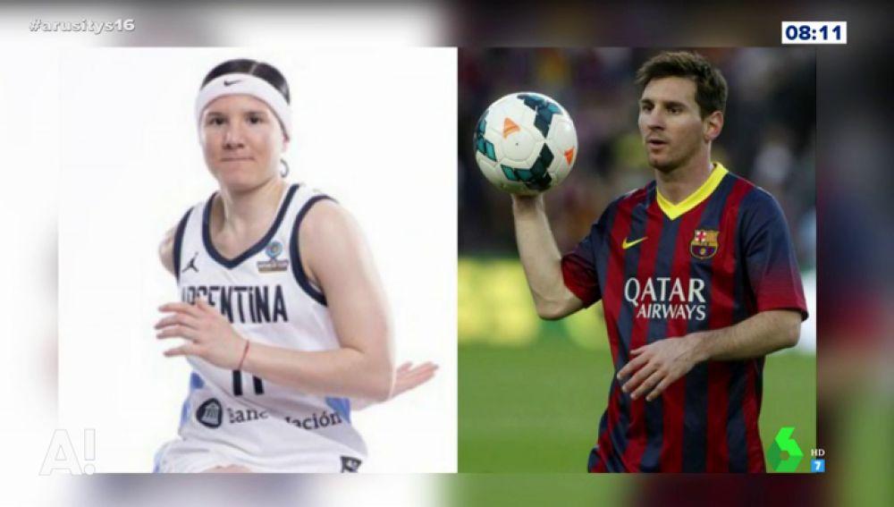 La doble femenina de Messi que participa en el Mundial de Baloncesto