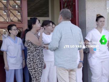 Un grupo de sanitarios boicotean a Alberto Chicote