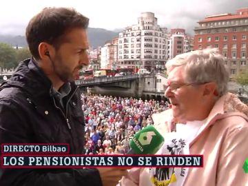"""Los pensionistas cargan contra Carlos Solchaga: """"Que un socialista diga eso… ya no son obreros ni nada"""""""