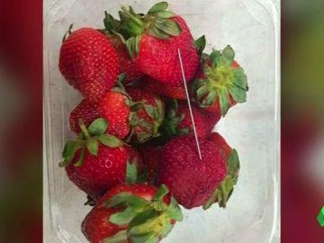 La crisis de las agujas escondidas en fresas se extiende de Australia a Nueva Zelanda
