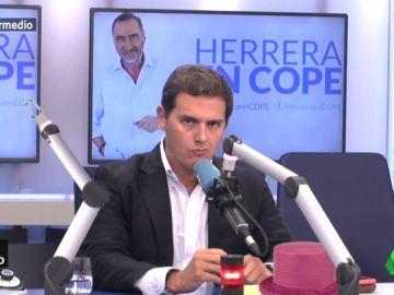 Albert Rivera durante una entrevista