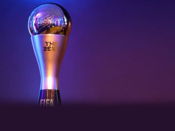 El trofeo 'The Best'
