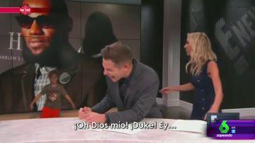Un hijo de una presentadora se cuela en el plató