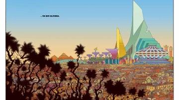 Viñeta del cómic 'New world', de Ales Kot y Tradd Moore