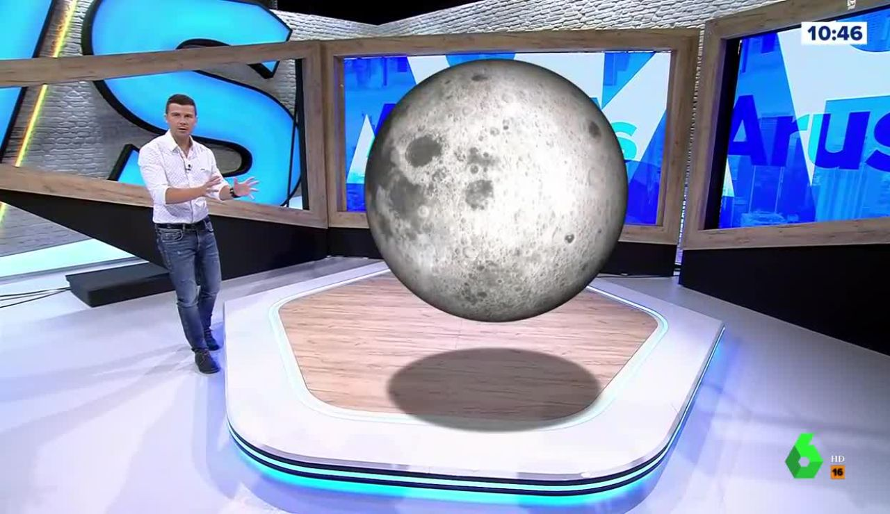 Marc Redondo, en el simulador