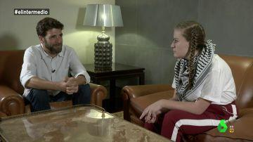 Gonzo y la activista palestina Ahed Tamimi