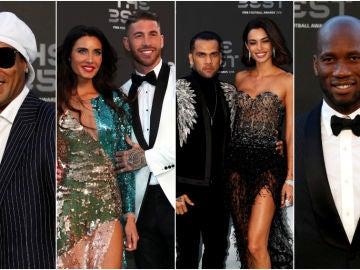 La alfombra verde de los premios 'The Best'