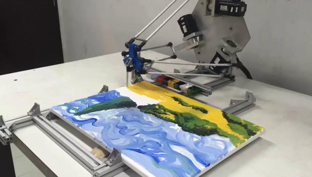 ¿Eres capaz de distinguir qué cuadro ha pintado un robot?