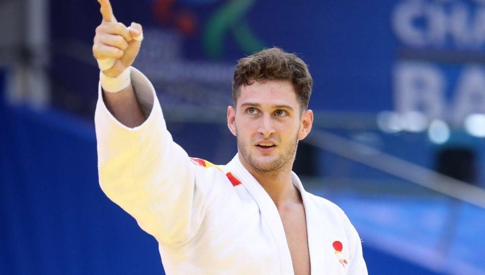 El judoka español Nikoloz Sherazadishvili