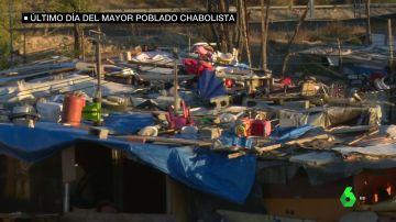 Adiós a 'El Gallinero', el mayor poblado chabolista de España