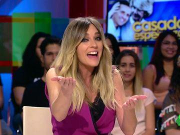 Anna Morgade baila Chachachá tras mencionar a Esperanza Aguirre