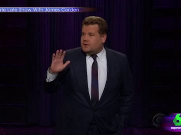 James Corden ridiculiza a Donald Trump en un monólogo