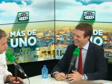 Carlos Alsina entrevista a Pablo Casado