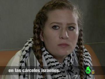 Ahed Tamimi habla con Gonzo en El Intermedio