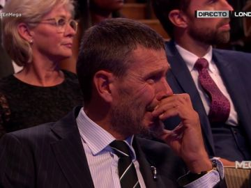 """Las lágrimas de Boban durante el discurso de Modric: """"Fue mi ídolo y mi inspiración"""""""
