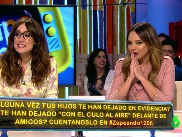 Anna Morgade y Chenoa reaccionan a la anécdota contada por Frank Blanco