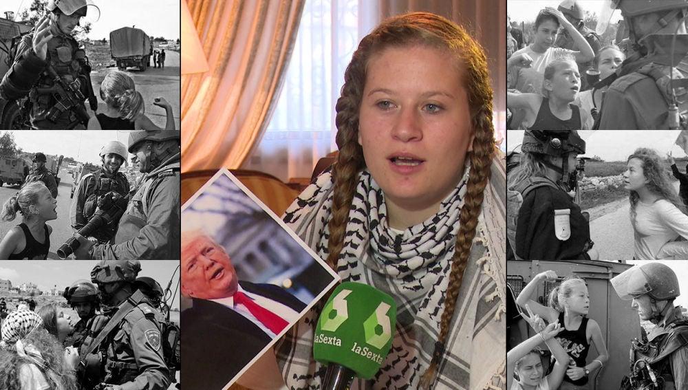 Entrevista a la activista Tamimi en laSexta Noticias