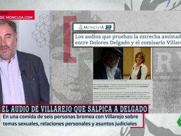 """Habla Joaquín Vidal, el director del medio que publica los audios del encuentro entre Delgado y Villarejo: """"La ministra miente porque eran amigos"""""""
