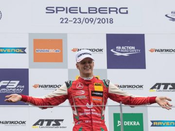 Mick Schumacher brilla en Austria