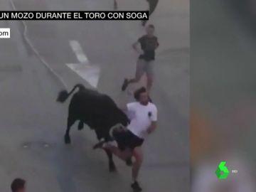 Sergio, un mozo habituado a las caídas y a los golpes