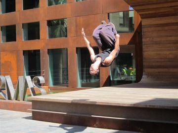 Un joven haciendo 'parkour' (Archivo)