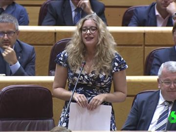 Esther Muñoz, senadora del PP