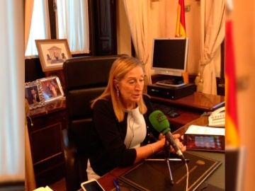 La presidenta del Congreso, Ana Pastor, durante una entrevista en Onda Cero