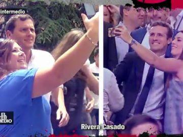 El rap de Rivera y Casado en El Intermedio
