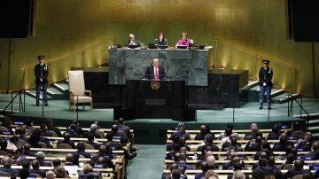Donald Trump en la asamblea de las Naciones Unidas