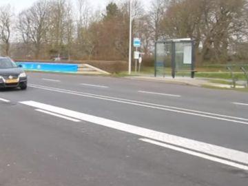 Carretera que canta en Holanda
