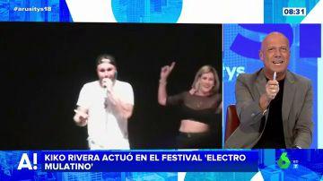 Kiko Rivera desafina en su vuelta a los escenarios